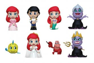 The Little Mermaid Mini Vinyl Figures 6 cm Display (12)