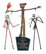 Nightmare before Christmas Akční Figurky 3-Pack The Jobs of Jac