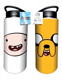 Adventure Time Drink Bottle Finn & Jake