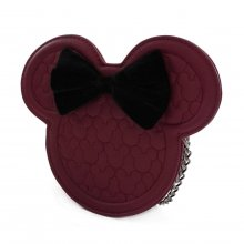 Disney by Loungefly Crossbody Dark Red Mickey Mouse