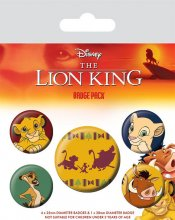The Lion King sada odznaků 5-Pack Hakuna Matata