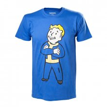 Triko Fallout 4 s potiskem Vault Boy Crossed Arms
