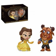 Beauty and the Beast Mystery Mini Vinyl Figures 2-Pack Beast & B