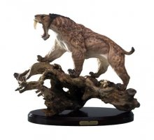 Ancient Spirits Predatory Scale Socha 1/6 Smilodon Populator Ze