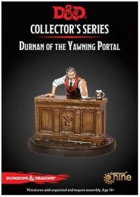 D&D Collectors Series Miniatures Unpainted Miniature Durnan of t