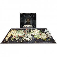 Game of Thrones 3D Puzzle Westeros (1500 dílků)