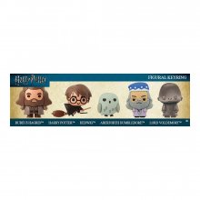 Harry Potter 3D Rubber Keychain 5-Pack Voldemort Exclusive