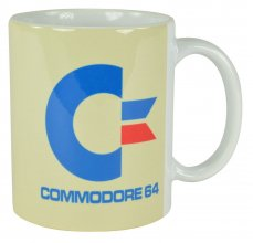 Commodore 64 Hrnek White Logo