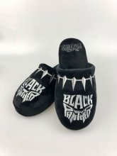 Black Panther Slippers Logo Size L