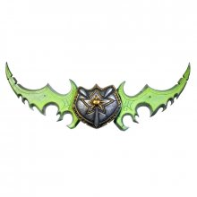 World of Warcraft plastový meč Warglaive of Azzinoth