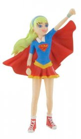 DC Comics Super Hero Girls mini figurka Super Girl 9 cm