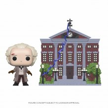 Back to the Future POP! Town Vinylová Figurka Doc w/Clock Tower