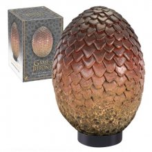 Game of Thrones Dragon Egg autentická replika Drogon 20 cm