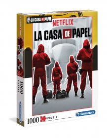 Money Heist Puzzle Suits