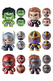 Marvel Mighty Muggs Figures 9 cm 2018 Wave 3 Assortment (6)