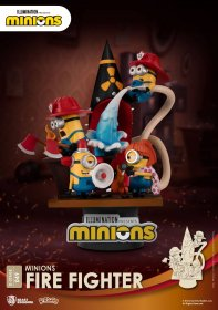 Minions D-Stage PVC Diorama Fire Fighter 15 cm