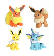 Pokémon Plush Figures 20 cm Eevee Edition Display (6)