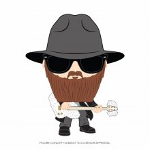 ZZ Top POP! Rocks Vinylová Figurka Billy Gibbons 9 cm