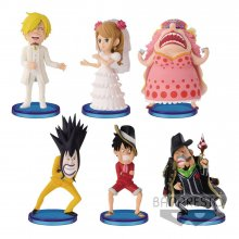 One Piece WCF ChiBi Figures 7 cm Assortment Hall Cake Island Vol