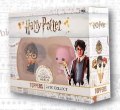 Harry Potter Toppers 2-Pack Wizarding World 4 cm