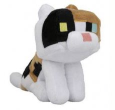 Minecraft Happy Explorer Plyšák Calico Cat 18 cm