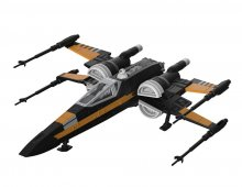 Star Wars Build & Play Model Kit with Sound & Light Up 1/78 Poe'