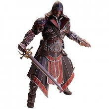 Assassins Creed akční figurka Ebony Ezio 20 cm