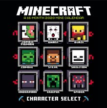 Minecraft Mini Calendar 2020 English Version*