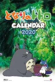 My Neighbor Totoro Calendar 2020 English Version*