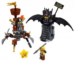 The LEGO® Movie™ 2 - Battle-Ready Batman™ and MetalBeard
