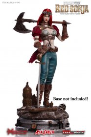 Red Sonja Akční figurka 1/6 Steampunk Red Sonja Classic Version