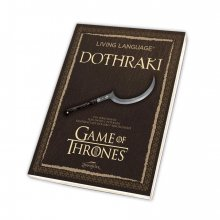 Game of Thrones Book Living Language Dothraki *German Version*