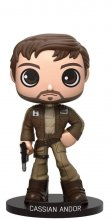 Star Wars Rogue One Wacky Wobbler Bobble-Head Cassian Andor 15 c