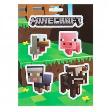 Nálepky Minecraft Set Baby Animals
