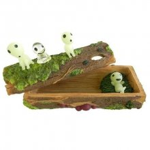 Princess Mononoke Accessory Case Kodamas