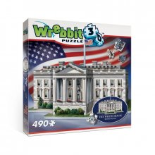 Wrebbit The Classics American Icons Collection 3D Puzzle The Whi