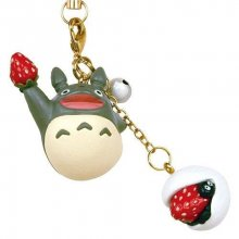 My Neighbor Totoro Japanese Sweet Series Strap Strawberry Rice C