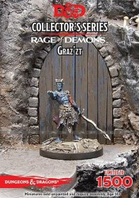 D&D Collectors Series Miniatures Unpainted Miniature Out of the