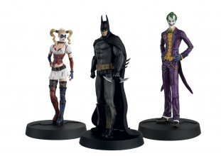 Batman Askham Asylum Hero Collection Statues 1/16 3-Pack 10th An