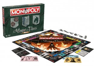 Attack on Titan desková hra Monopoly *French Version*