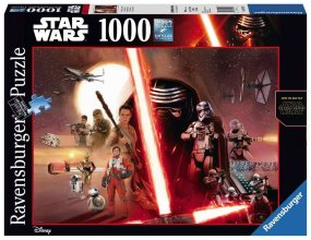 Star Wars skládací puzzle The Force Awakens (1000 pieces)