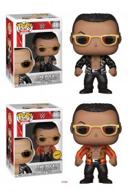 WWE Wrestling POP! WWE Vinyl Figures The Rock (Old School) 9 cm