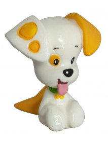 Bubble Guppies mini figurka Puppy 5 cm
