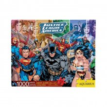 DC Comics skládací puzzle Justice League (1000 pieces)