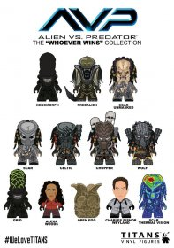 Alien vs Predator Trading Figure Whoever Wins Collection Titans