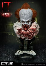 Stephen Kings It 2017 Bust 1/2 Pennywise Surprised 42 cm