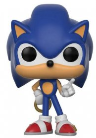Sonic The Hedgehog POP! Games Vinylová Figurka Sonic (Ring) 9 cm