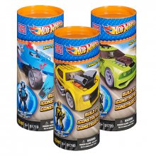 Hot Wheels Mega Bloks stavebnice Vehicles Build & Collect