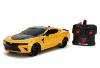 Transformers The Last Knight RC Car 1/16 2016 Chevy Camaro Bumbl