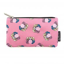 DC Comics by Loungefly Coin/Cosmetic Bag Harley Quinn Bubble Gum